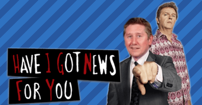 Get more audience participation with an Have I got News for you style quiz format