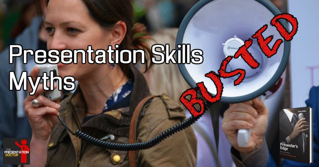 Presentation Skills Myths Busted